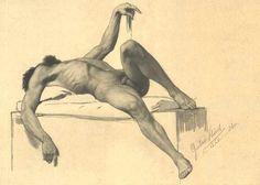 <span class='fl'>Liegender männlicher Akt 1885</span><a class='fr' href='/en/biography/1862---1890/details-klimt-liegender-maennlicher-akt-1885.dhtml'>read more</a><div class='clr'></div>
