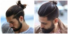 cabelo masculino grande, coque  #moda #Tendências #modernas #Penteados #masculino #grande Men's Hair, Hairdresser, Naruto, Men's Fashion, Concept, Tattoo, Men Ponytail, Boys Fade Haircut, Strong Hair