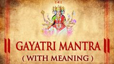 Gayatri Mantra by Suresh Wadkar   Om Bhur Bhuva Swaha   Bhakti Songs