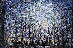 abstract night sky