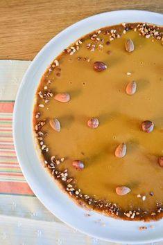 Tarte au praliné croustillant et au caramel | Amandise | Les gourmandises d'Amandine