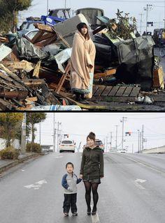 C'est fou comment les japonais ont pu se sortir rapidement du chaos du tremblement de terre et tsunami qui les ont frappés.  Et si l'on regarde Haiti...