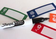 Marcador Sharpie Laundry Marker http://etiquetasmarcarropa.es/es/marcador-ropa-sharpie/p/12/