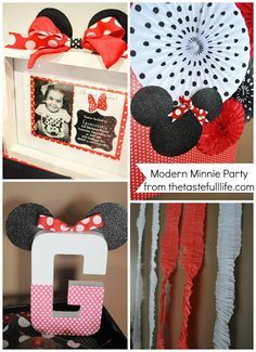 Modern Minnie Mouse Party from Taste{Full}