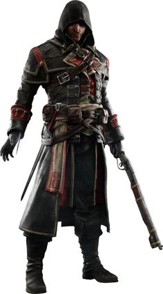 AC: Rogue - Shay Cormac Render by youknowwho77 on deviantART