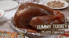 Abstrus süßes Thanksgiving-Mahl... o.O
