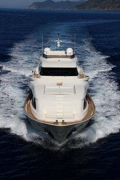 External view Custom Line - Navetta 26 Crescendo #yacht #luxury #ferretti…
