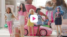 At last, a new barbie doll that has realistic proportions and diverse skin tones. Thank you Mattel! #thedollevolves