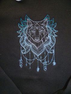 Odin Viking gods Coat 3 in 1. Odin's wolves Geri & Freki Thor's Hammer Mjolnir Embroidered designs. Waterproof. Celtic Knotwork Heathen. VgAk0z7h