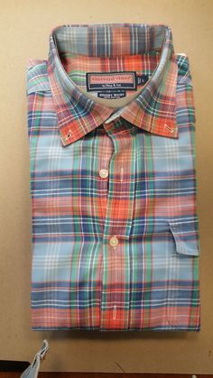 Vineyard Vines Crosby Men's Large Long Sleeve Shirt Pre-Owned Excellent Cond. Stylish Shirts, 3rd Eye, Work Attire, Vineyard Vines, New Work, Boy Outfits, Shirt Style, Long Sleeve Shirts, Men's Fashion