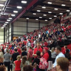 Thousands of UCM students, alumnae, and fans came out to celebrate the Mules winning the National Championship at the pep rally!