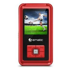 """1.5"""" Mp3 Video Player Red"""