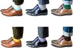 """Changing Your Laces"" http://www.menstylefashion.com/shoe-laces-step-colour/"