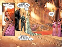 Green Arrow And Black Canary's Wedding (Injustice II)