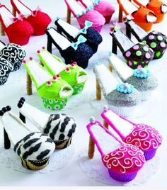 Cup cake shoes !-how would I make a cupcake croc shoe?