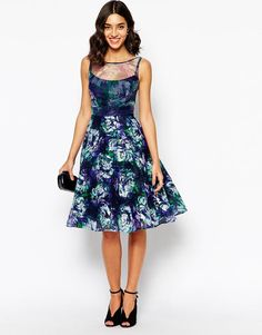 Coast | Coast Perlia Dress with Full Skirt at ASOS