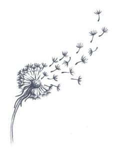 Dandelion Tattoo - Dandelion Tattoo You are in the right place about Dandelion Tattoo Tattoo Design And Style Galleries - Dandelion Tattoo Small, Dandelion Drawing, Dandelion Tattoo Design, Dandelion Flower, Tattoo Mama, Mum Tattoo, Real Tattoo, Tattoo You, Love Tattoos