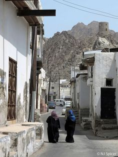 Back Streets of Muscat, Oman
