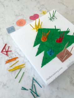 Recycled Crafts Kids, Crafts For Kids, New Words, Activities For Kids, Recycling, Christmas Tree, Shapes, Learning, Fun
