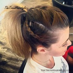 The best collection of Casual Updos For Long Hair, latest and best Casual updo hairstyles, long hairstyles with casual updos Casual Updos For Medium Hair, Updos For Medium Length Hair, Up Dos For Medium Hair, Medium Hair Styles, Curly Hair Styles, Casual Hair, Long Face Hairstyles, Work Hairstyles, Ponytail Hairstyles