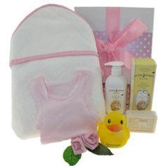 Peter Rabbit baby hooded towel baby hamper. #babygifts #babyhampers