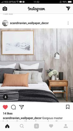 Find the best bedroom ideas, designs & inspiration to match your style. This bedroom decor ideas.Planning and decorating your bedroom. Home Decor Bedroom, Modern Bedroom, Master Bedroom, Minimalist Bedroom, Contemporary Bedroom, Bedroom Ideas, Bedroom Styles, Guest Bedrooms, My New Room
