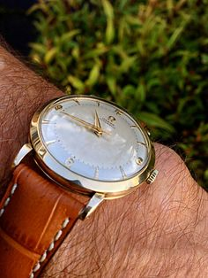 Vintage OMEGA Bumper Automatic In Gold Filled Circa 1950s