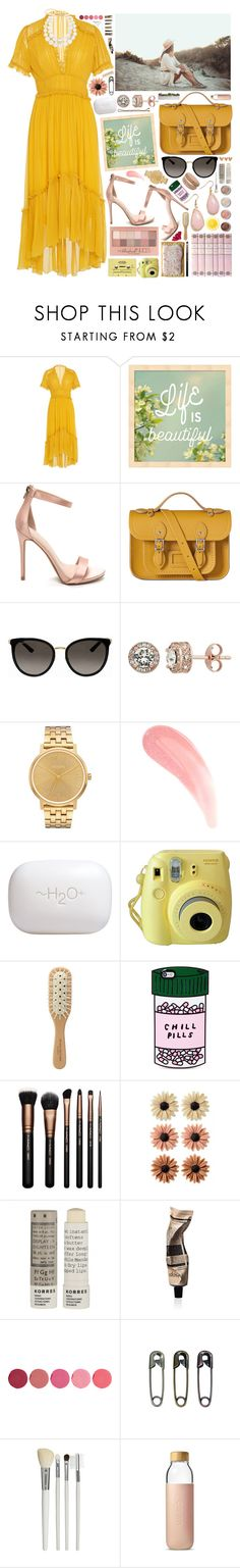 """Life is Beautiful"" by laurengoode23 ❤ liked on Polyvore featuring Ulla Johnson, The Cambridge Satchel Company, Gucci, Nixon, Maybelline, H2O+, Terre Mère, Fujifilm, Michael Van Clarke and ban.do"