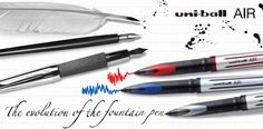 The evolution of the fountain pen... and we arrived to AIR