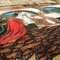 Trabajando en una última cena #bajatalla #ultimacea #lavoro #PirograbadoProto #mp #arte #lettering #pirograbado #madera #legno #wood #hechoamano #artesania  #art  #imagine #creative #world  #creatividad #proto