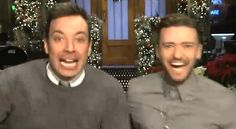 Jimmy Fallon and Justin Timberlake get excited in 'Saturday Night Live' promo