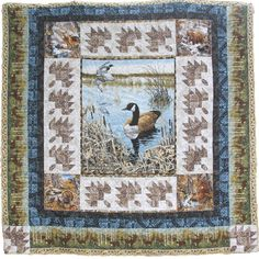 Duck Hunt Quilt Kit Full Queen New For Quilters