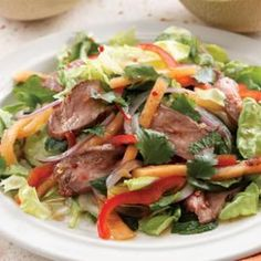Thai-Style Melon & Beef Salad Recipe