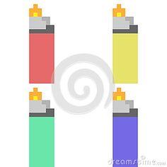 Image result for lighter pixel art
