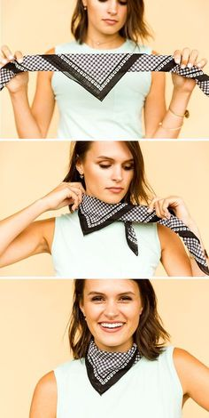 The silk scarf is back! 4 ways to tie it like a pro in 2019 | STYLE