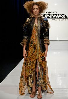 Project Runway - Episode 7 -- The smoking jacket.  The single greatest thing to ever walk down that runway.  Mondo = genius