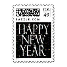 Sparkling New Years Postage. This is a fully customizable business card and available on several paper types for your needs. You can upload your own image or use the image as is. Just click this template to get started!