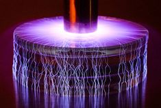 Arcing objects to a Tesla coil by Marc Simon Frei