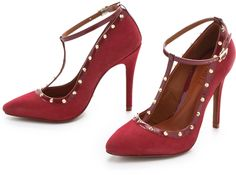 Fiona Suede Pumps - Lyst