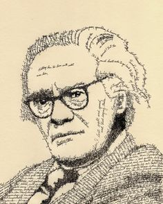 "Robert Lowell - well known American poet who won the Pulitzer for his book of poems named ""Lord Weary's Castle"" which had well known favourites like ""Mr Edwards and the Spider"" and ""The Quaker Graveyard in Nantucket."""