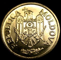 1995 Republic of MOLDOVA 25 Ban1 Coin in Great Shape RARE INDEPENDENT STATE COIN