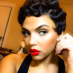 STYLIST FEATURE| A classic look never goes out of style GORGEOUS finger waves by #DMVstylist @crystalstyledme on @moriahlaz. Lashes by @minkedbymoriah❤️#VoiceOfHair ========================= Go to VoiceOfHair.com ========================= Find hairstyles and hair tips! =========================