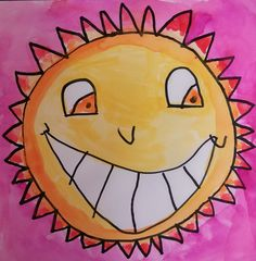 first grade art projects square one art - Google Search