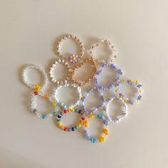 Trendy Jewelry, Summer Jewelry, Cute Jewelry, Jewelry Accessories, Handmade Wire Jewelry, Diy Crafts Jewelry, Bead Jewellery, Beaded Jewelry, Diy Beaded Rings