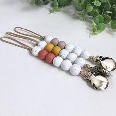 Your place to buy and sell all things handmade Teething Pacifier, Pacifier Clips, Pacifier Holder, Binky, Pacifier Clip Tutorial, Pacifier Storage, Baby Teethers, Make And Sell, Creations