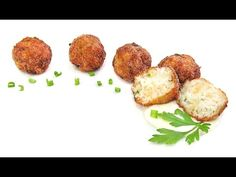 Albóndigas de Pescado - YouTube Baked Potato, Potatoes, Baking, Ethnic Recipes, Foods, Youtube, Cooking, Food Food, Bakken