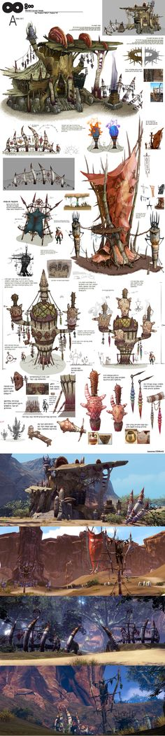 Creative Draw A Monster Ideas. Exacting Draw A Monster Ideas. Perspective Architecture, Concept Architecture, Dirigible Steampunk, Game Art, Espace Design, Bg Design, Building Concept, Game Concept Art, 3d Drawings