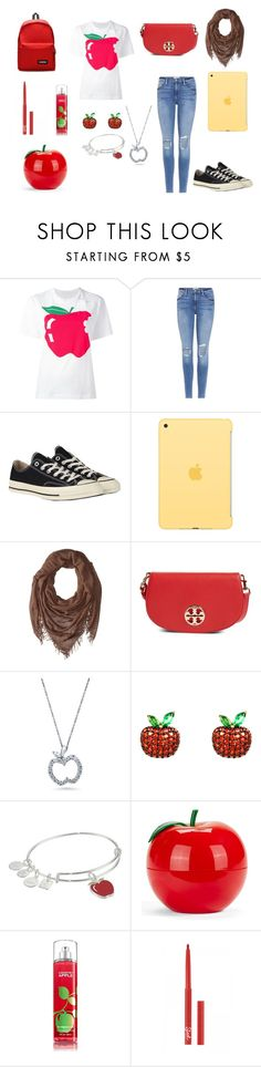"""""""Day 11 - 100 day Challenge"""" by sofifer ❤ liked on Polyvore featuring Peter Jensen, Frame, Converse, Apple, Chan Luu, Tory Burch, BERRICLE, Latelita, Alex and Ani and Tony Moly"""