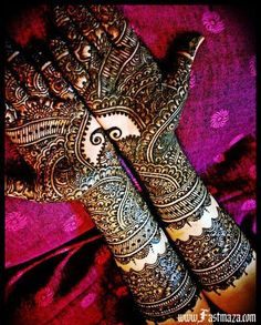 Beautiful Mehndi Design...