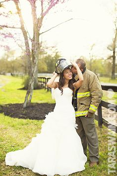 Love This Pick Firefighter Wedding Ideas